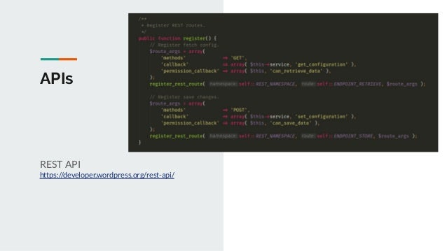 APIs Object Cache https://developer.wordpress.org/reference/cla sses/wp_object_cache/ wp-memcached https://github.com/Auto...