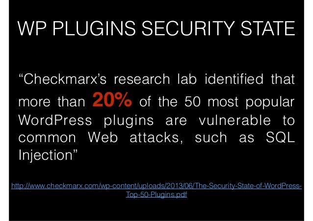 8 Ways to Hack a WordPress website slideshare - 웹