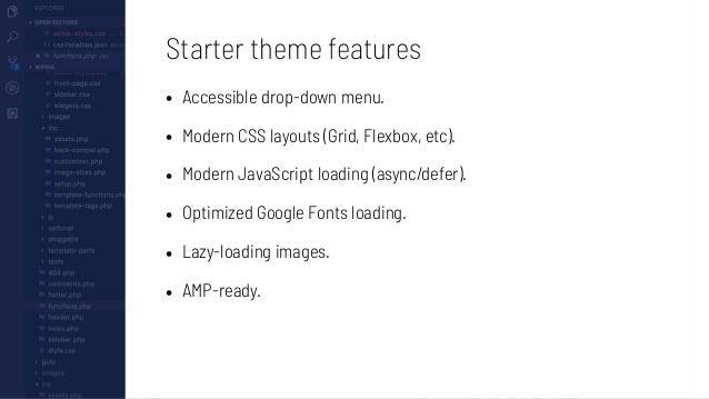 Using WP Rig: 1. Set up your regular WordPress development environment. 2. Clone / copy WP Rig into the themes folder. 3. ...