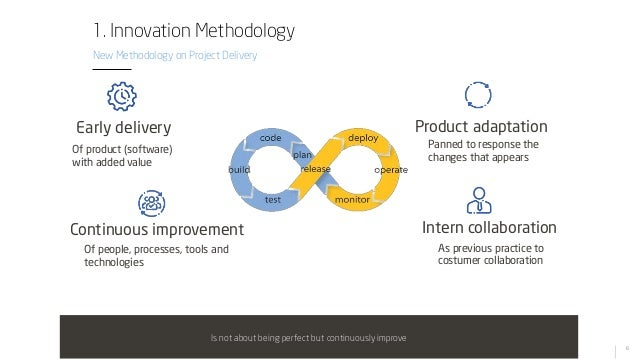 6 Early delivery Continuous improvement Product adaptation Intern collaboration Of product (software) with added value Of ...