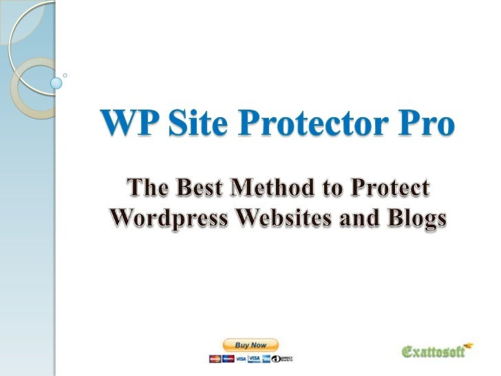 WP Site Protector ProWP Site Protector Professional is a wordpress securityplugin, which applies full protection on wordpr...