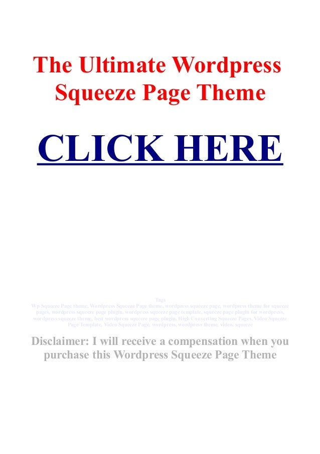 wp squeeze page theme wordpress squeeze page theme