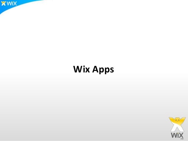 Wix Apps