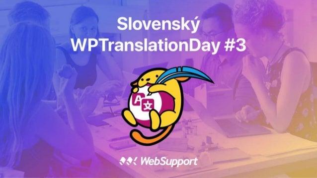 Ako prekladať WordPress late 2017 edition