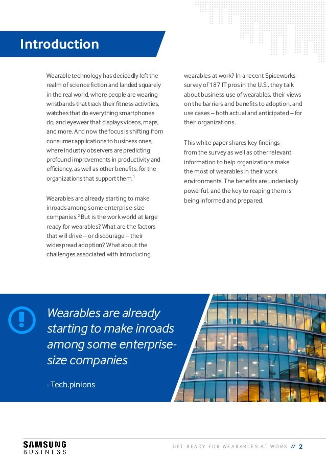 Get Ready for Wearables at Work Slide 3