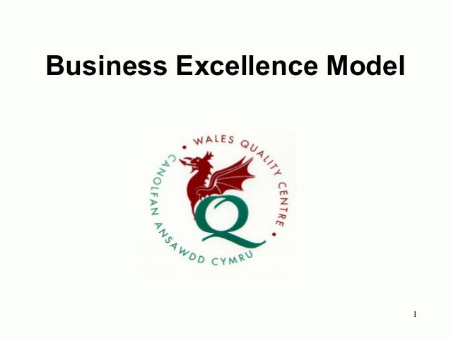 1 Business Excellence Model