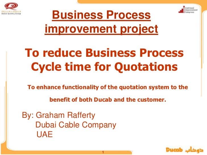 process quotations