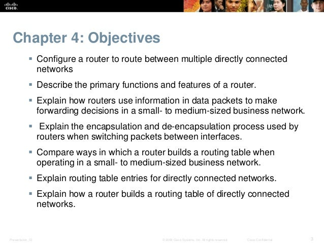 Ccnav5 s2 chapter4 routing concepts routing decisions 43 router operation 44 summary 3 greentooth Image collections
