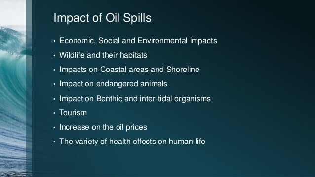 Oceanic Oil Spill Pollution Amp Cleaning Up