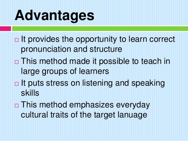 Audio Lingual Method Universitas Wahidiyah
