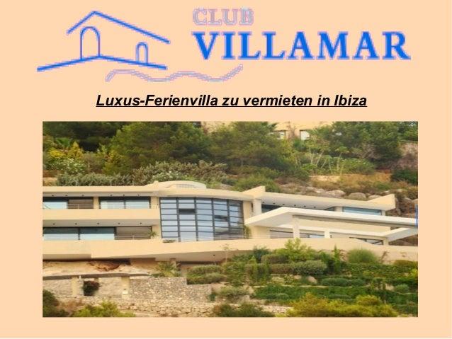 Luxus-Ferienvilla zu vermieten in Ibiza