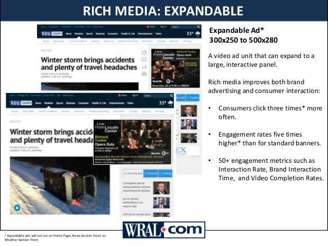 WRAL COM Media Kit