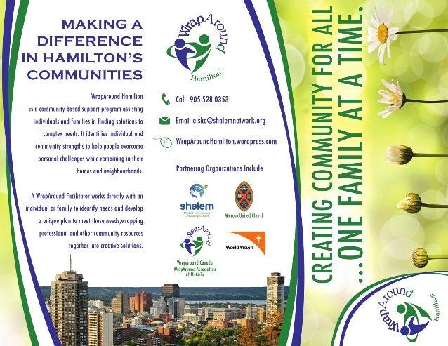 WrapAround Hamilton - Shalem Network - Brochure 2013