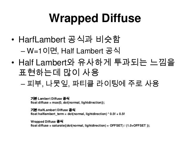 Wrapped diffuse Slide 3