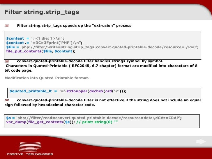 picture regarding Quoted Printable Decoding identified as Upon harmless software package of PHP wrappers