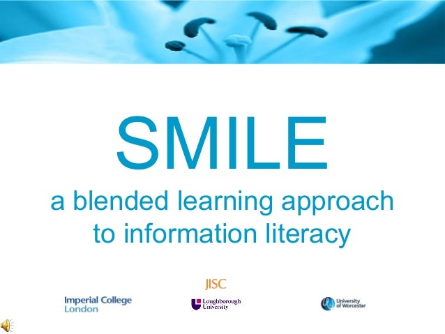 SMILE a blended learning approach to information literacy