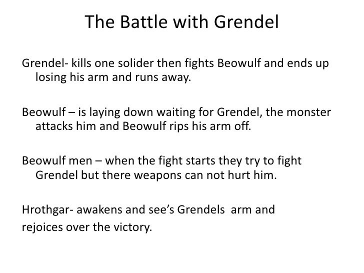 grendel short summary