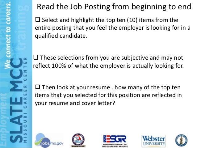 No Job Posted Send Resume Anyway