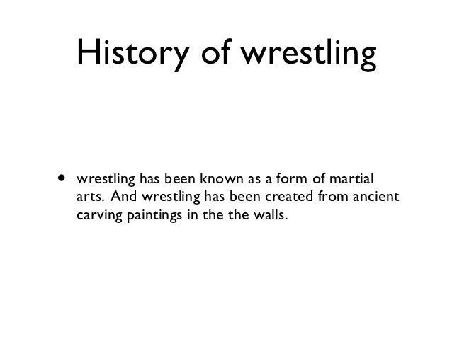 Wrestling presentation Slide 2