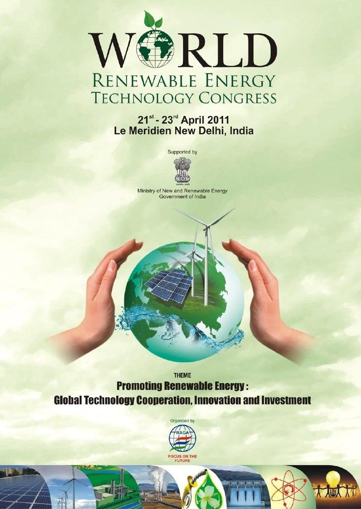 World Renewable Energy Congress 2011 Brochure