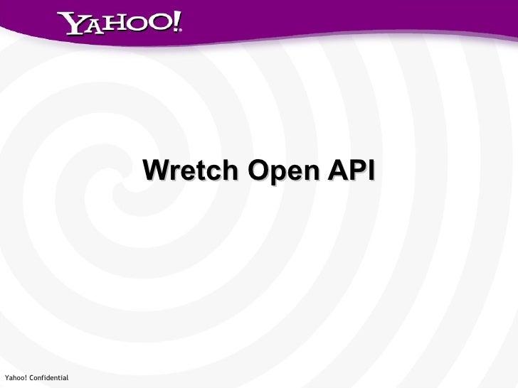 Wretch Open API