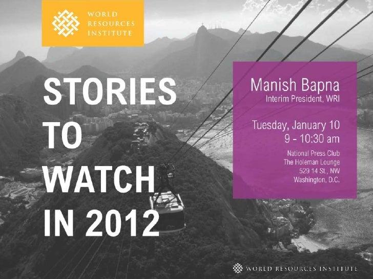 MANISH BAPNA, INTERIM PRESIDENT        JANUARY 10, 2012