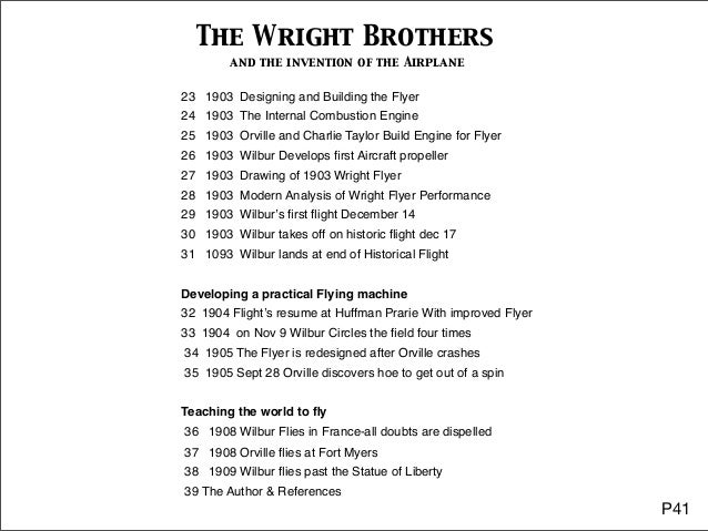 The Wright Brothers: How They Invented the Airplane Critical Essays