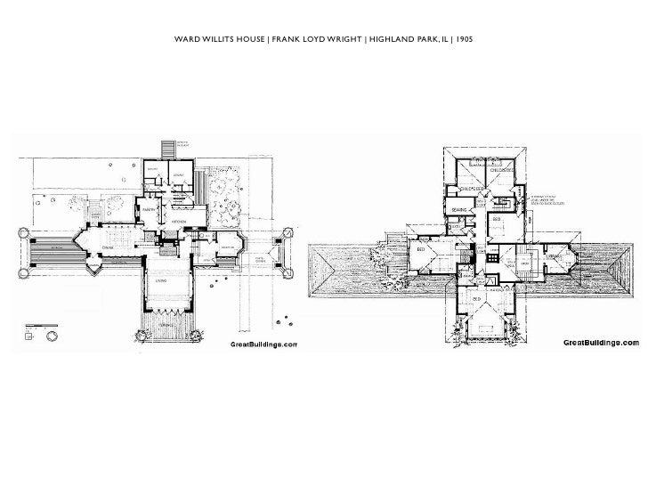 Sturges House Floor Plan House Plans