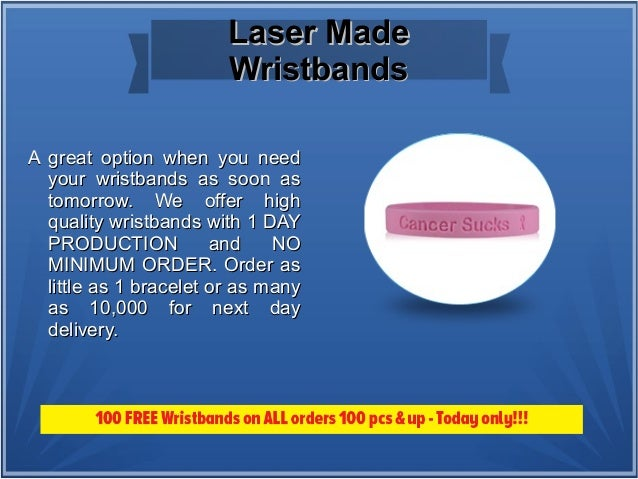 Different Types Of Wristbands At Make Your Wristabnds