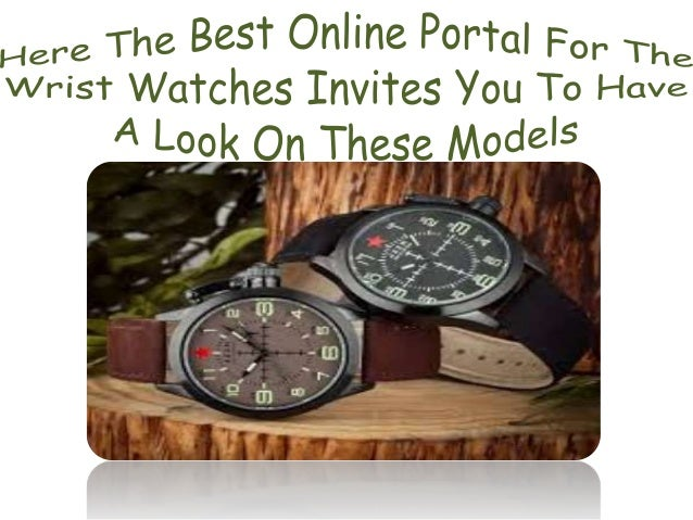 Designer Watches- Big & Affordable Deals!