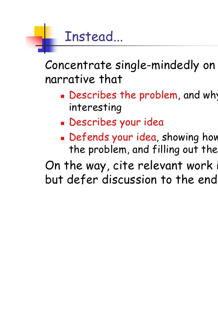 Writing a good research paper ppt