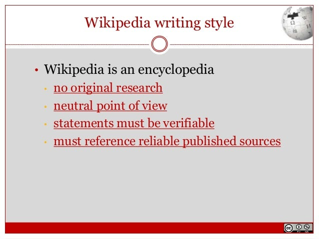definition of literature cited from wikipedia Note: in the bibliography, chicago style does not generally include  writers are  tempted to use wikipedia for definitions of terms (the.