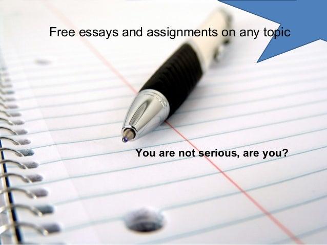 any topic essay scholarships