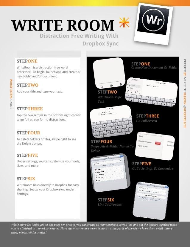 WriteRoom App Tutorial