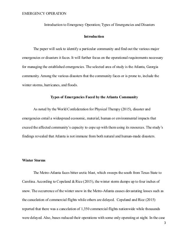 disaster management essay 4 5