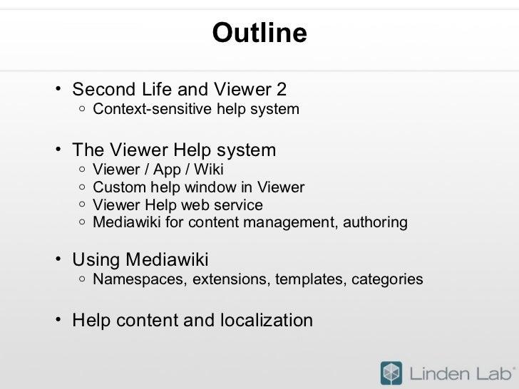 Creating a Wiki-Based Online Help System (Abridged) Slide 2