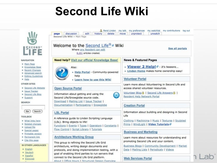 Second Life Wiki