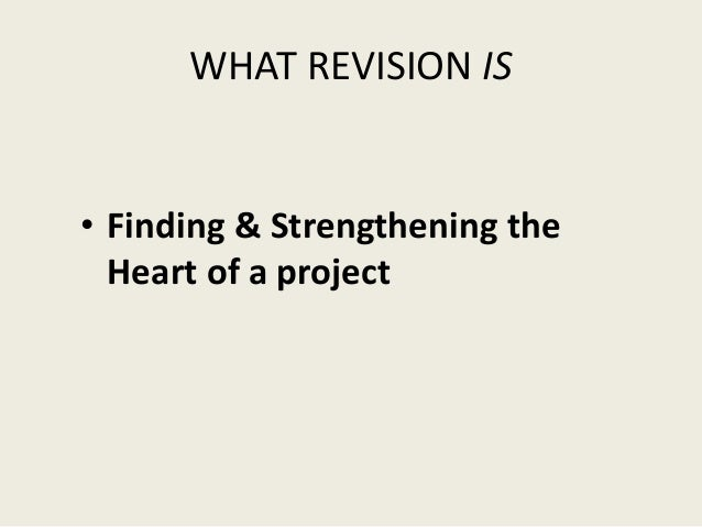Write to learn revision