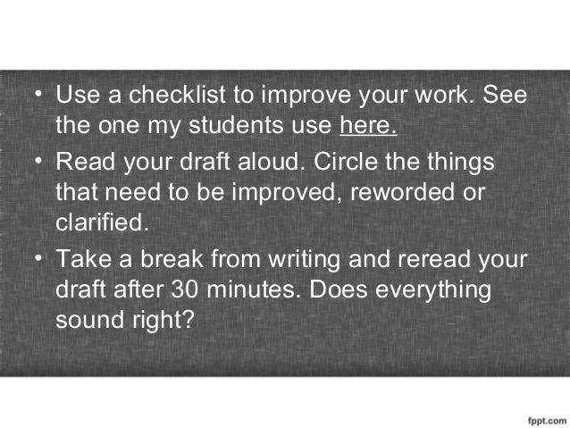 My Writing Process   Lydya Matti SlideShare The Writing Process