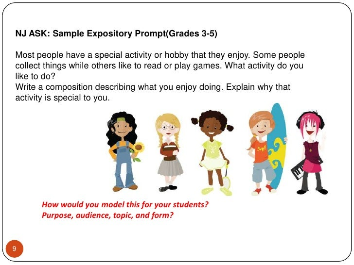 nj ask explanatory essay Grade 8 explanatory writing prompt who responded to an explanatory prompt on the may 2008 nj ask essay prewriting/planning.