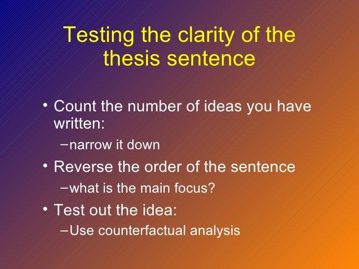 write counterfactual essay