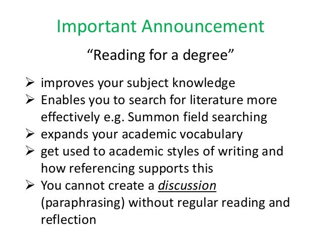 the importance of referencing in academic Home help and support referencing and plagiarism the  developing good academic practices website  learn why referencing is important, how to construct references and where to go for help and support library helpdesk chat to a librarian - available 24/7.