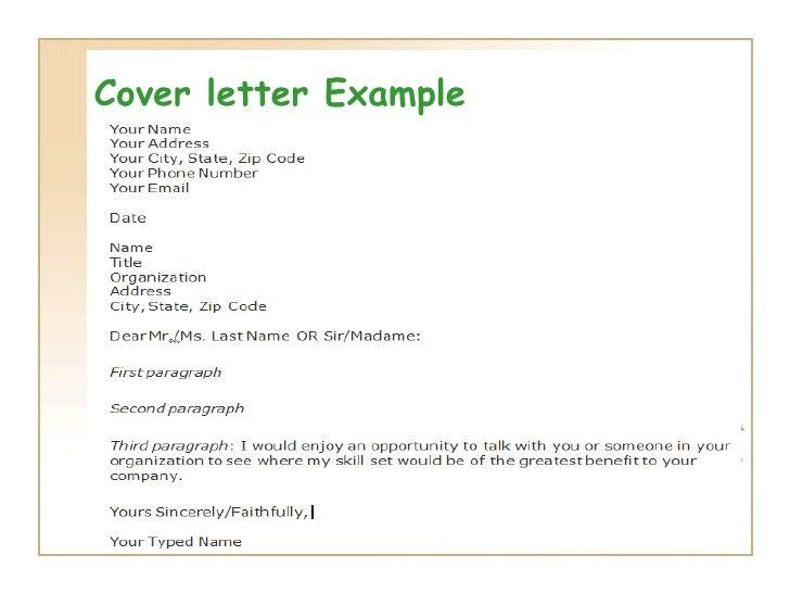 dear sir dear madam cover letter