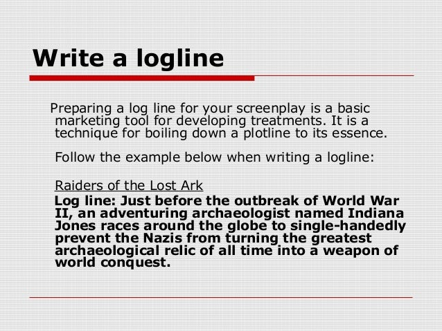 Story page how to write a logline – eclipse-articles. Com.