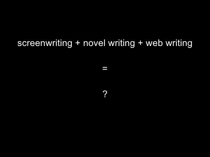 Writing Across Media Slide 3