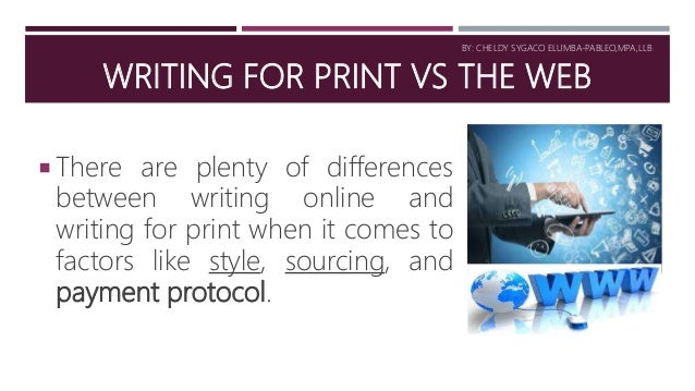 writing and designing in the wed