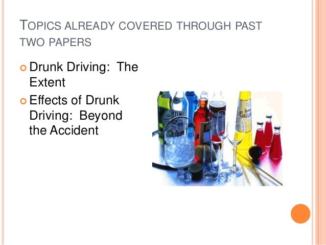 Drinking driving essay conclusions