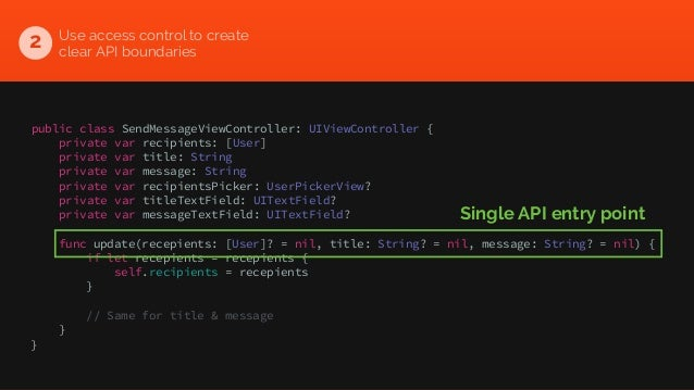 Writing Swift code with great testability