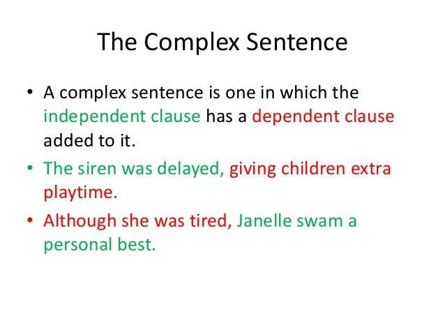 writing 2 sentences