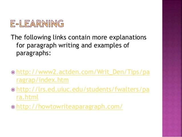 exploring writing paragraphs and essays 3rd edition Writer's resources from paragraph to essay from paragraph to essay, second edition part ii writing paragraphs and essays 21.